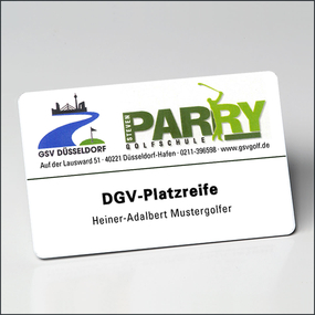 plasticcards for various functions
