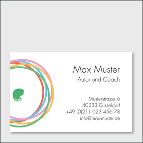 example for a business card